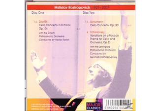 Czech and Leninggrad Philharmonic Orchestr - Music for Cello and Orchestra  - (CD)