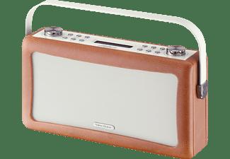 VIEWQUEST Wekkerradio Hepburn MK II DAB+ FM Bluetooth Bruin