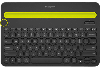 LOGITECH Multi-Device Keyboard K480 Black