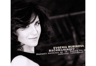 Evgenia Rubinova - Moments Musicaux / Klaviersonate 2 - (CD)