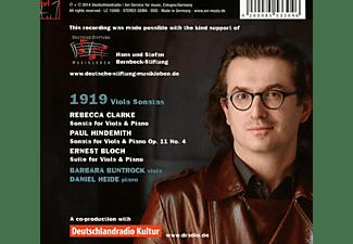 Barbara Buntrock, Daniel Heide - 1919 Violasonaten  - (CD)