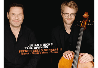 Julian Steckel, Paul Rivinius - French Cello Sonatas II  - (CD)