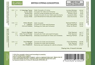 VARIOUS - British String Concertos  - (CD)
