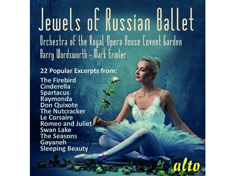 Orchestra Of The Royal Opera House - Jewels Of Russian Ballet [CD]
