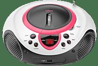 LENCO SCD-38 Radiorecorder (Pink)