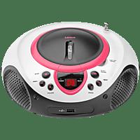 LENCO SCD-38 Radiorecorder, Pink