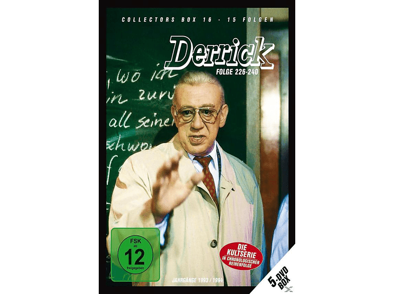 Derrick: Collector's Box Vol. 16 (Folge 226-240) [DVD]