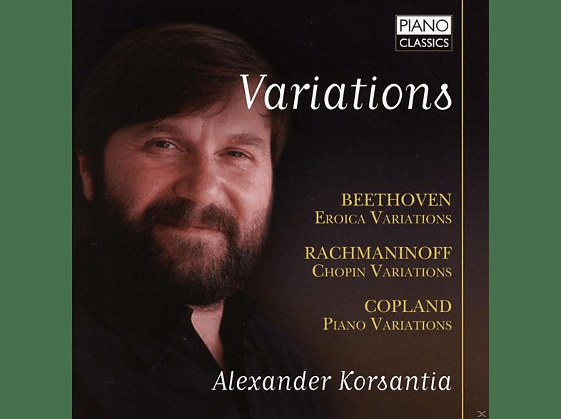 Korsantia Alexander - Alexander Korsantia: Variations [CD]