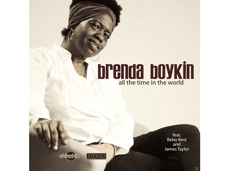Brenda Boykin - all the time in the world [CD]