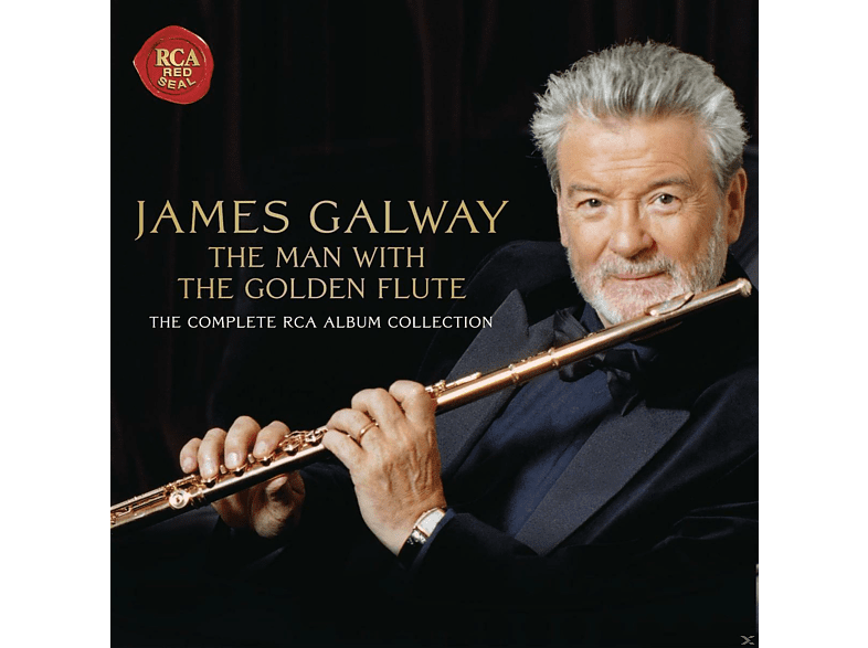 James Galway, VARIOUS - The Man With The Golden Flute [CD + DVD Video]