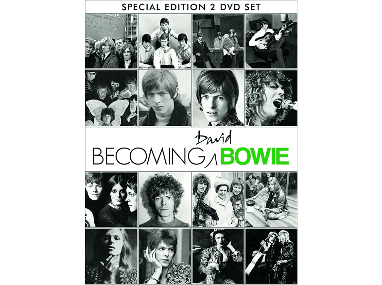 David Bowie - Becoming Bowie [DVD]