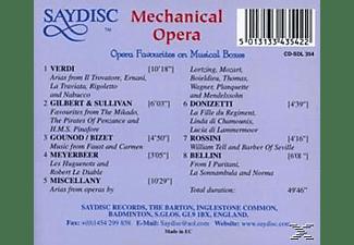 VARIOUS - Mechanical Opera  - (CD)