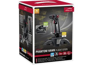 SPEEDLINK Phantom Hawk Flightstick - Joystick (Noir)