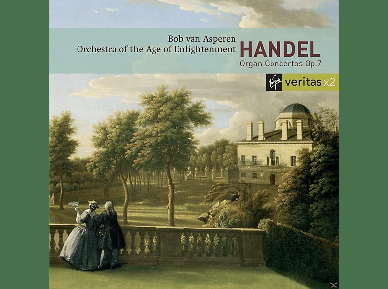 Bob Van Asperen, Orchestra Of The Age Of Enlightenment - Orgelkonzerte Op.7 [CD]