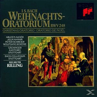 VARIOUS - J.S. Bach Weihnachtsoratorium - [CD]