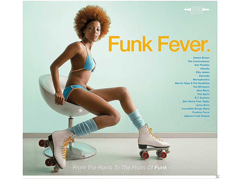 VARIOUS - Funk Fever. [CD]