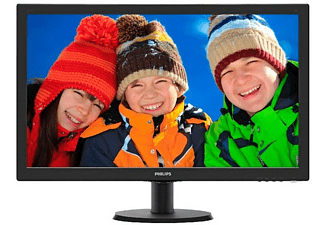 "REACONDICIONADO Monitor LCD TFT - Philips 273V5LHAB, 27"", HD, 1920 x 1080 píxeles, Negro"