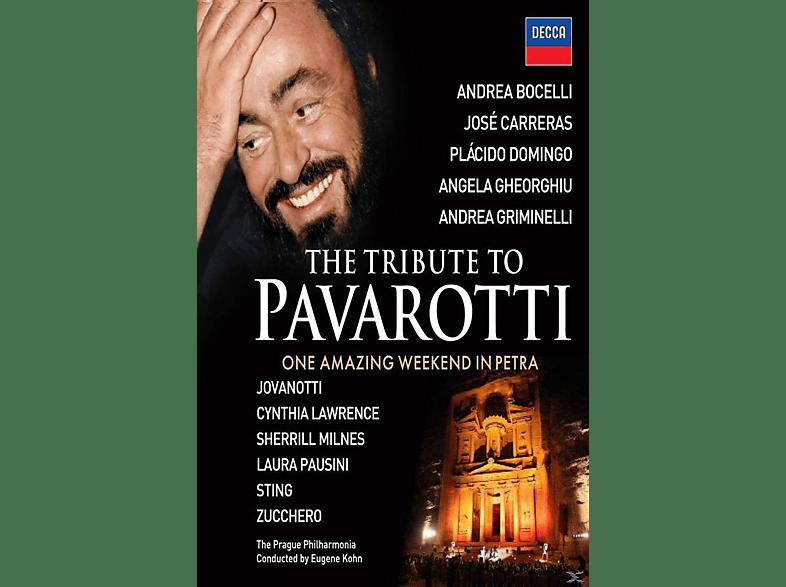 Luciano Pavarotti, Angela Gheorghiu, Sting, Bono, Plácido Domingo, José Carreras, Andrea Bocelli - The Tribute To Pavarotti [Blu-ray]
