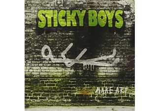 Sticky Boys - Make Art  - (CD)