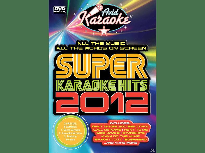 Karaoke - Super Karaoke Hits 2012 [DVD]