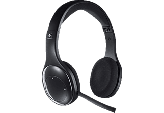 LOGITECH H800 - Micro-casque (Sans câble, Binaural, On-ear, Noir)