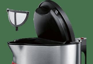 SIEMENS TW86104P Wasserkocher, Cranberryrot/Schwarz