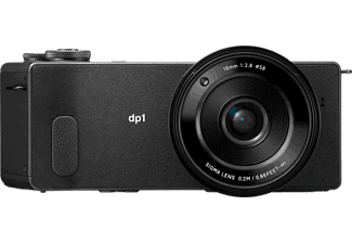 SIGMA dp1 Quattro Digitalkamera Schwarz, 29 Megapixel, 3 fach opt. Zoom, TFT-Farb-LCD