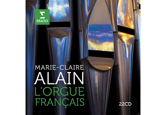 Marie-Claire Alain - Französische Orgelmusik  - (CD)