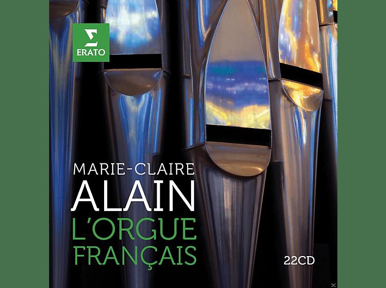 Marie-Claire Alain - Französische Orgelmusik [CD]