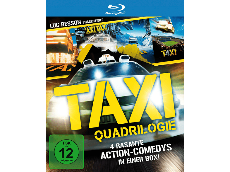 Taxi 1 - 4: Qu4drilogie [Blu-ray]