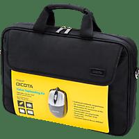 DICOTA D30805 Value Toploading Kit Notebooktasche, Umhängetasche, 15.6 Zoll, Schwarz