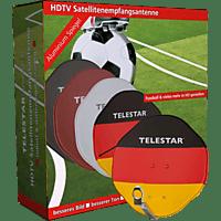 TELESTAR Alurapid 45 Fussball-Edition Sat-Anlage (45 cm, Geeignet für LNBs mit 40 mm Feedhorn)