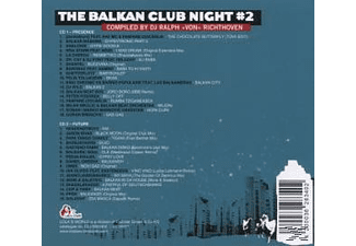 VARIOUS - The Balkan Club Night # 2  - (CD)