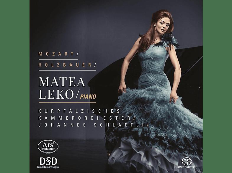 Matea Leko, Kurpfälzisches Kammerorchester Mannheim - Klavierkonzerte Kv 414 / Sinfonia A 10 Op. 4III [SACD Hybrid]