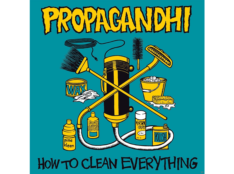 Propagandhi - How To Clean Everything (Reissue) [CD]