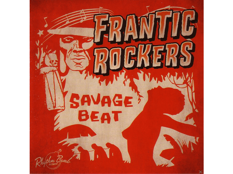 Frantic Rockers - Savage Beat [CD]