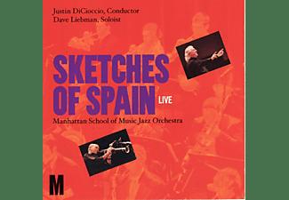 Manhattan School Of Music Jazz Orchestra, David Liebman - Sketches Of Spain  - (CD)