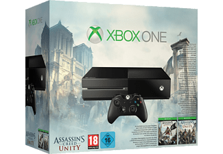 MICROSOFT Xbox One Konsole 500GB inkl. Assassin's Creed Unity und Black Flag
