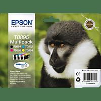 EPSON Original Tintenpatrone Affe Multipack mehrfarbig (C13T08954010)