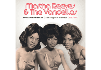 Martha & The Vandellas - 50th Anniversary The Singles Collection 1962-1972 - (CD)