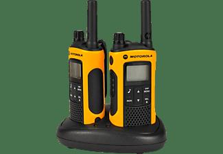 Walkie Talkie - Motorola TLKR-T80 con Vibración y resistente a salpicaduras