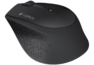 Ratón Wireless - Logitech M280, negro, inalámbrico, autonomía de 18 meses