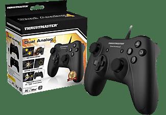 THRUSTMASTER Dual Analog 4 (Gamepad, PC) Gamepad Schwarz