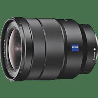 SONY SEL1635Z Zeiss Vollformat 16 mm - 35 mm f/4.0 OSS, ED, ASPH, DMR, Circulare Blende (Objektiv für Sony E-Mount, Schwarz)