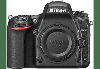 NIKON D750 Body Spiegelreflexkamera, 24.3 Megapixel, WLAN, Schwarz