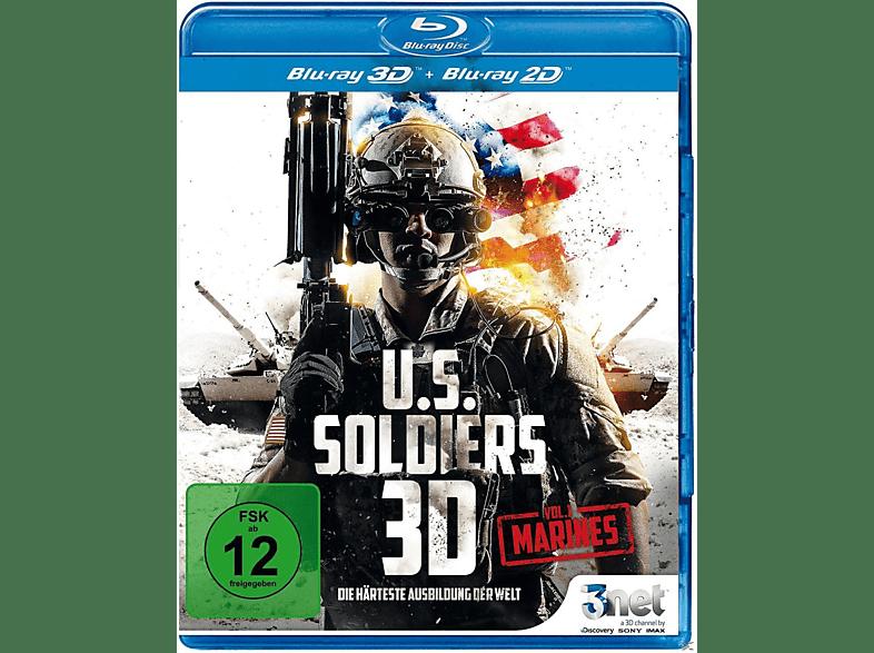 U.S. Soldiers 3D – Marines - Die härteste Ausbildung der Welt [3D Blu-ray (+2D)]