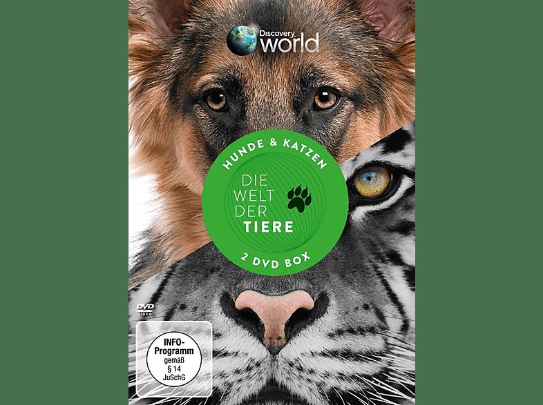 WELT DER TIERE - HUNDE & KATZEN [DVD]