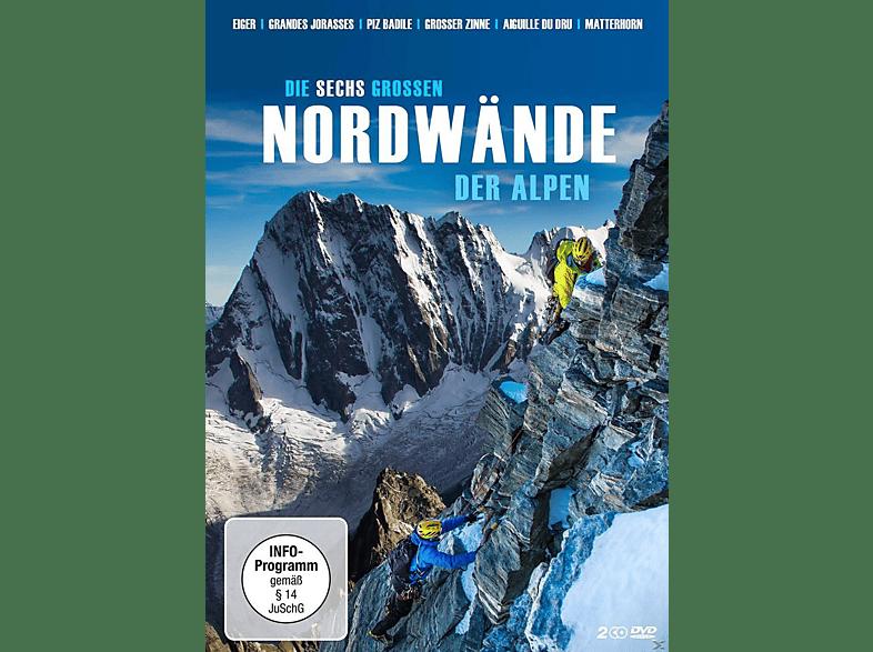 DIE SECHS GROSSEN NORDWÄNDE DER ALPEN [DVD]