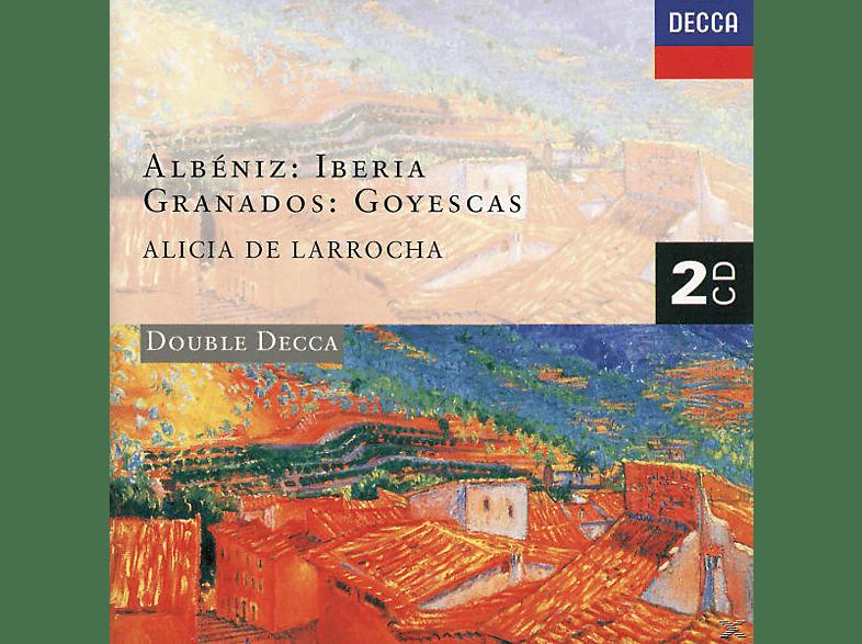 Alicia De Larrocha - Iberia/Goyescas [CD]