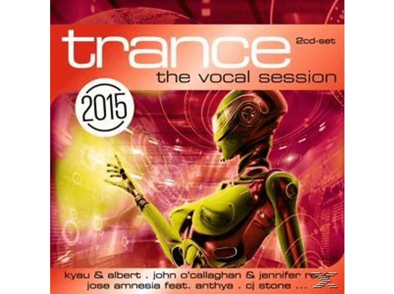 VARIOUS - Trance: The Vocal Session 2015 [CD]